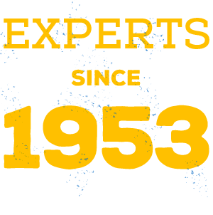 Experts since 1953