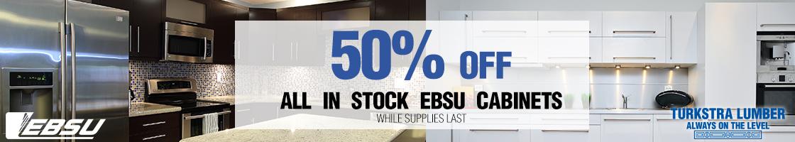 EBSU Cabinets on Sale