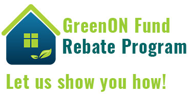 Green Ontario Rebate Program windows replacement by Turkstra installation professionals with convenient 11 locations