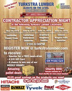 Turkstra 65th Anniversary Contractor Appreciation Night
