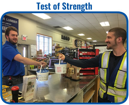 Turkstra Lumber 65th Anniversary Contractor Appreciation Day - Test of Strength