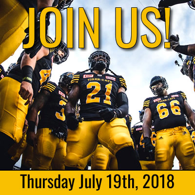 Join Us! Turkstra Lumber and staff at the July 19th, 2018 Hamilton Tiger-Cats Game