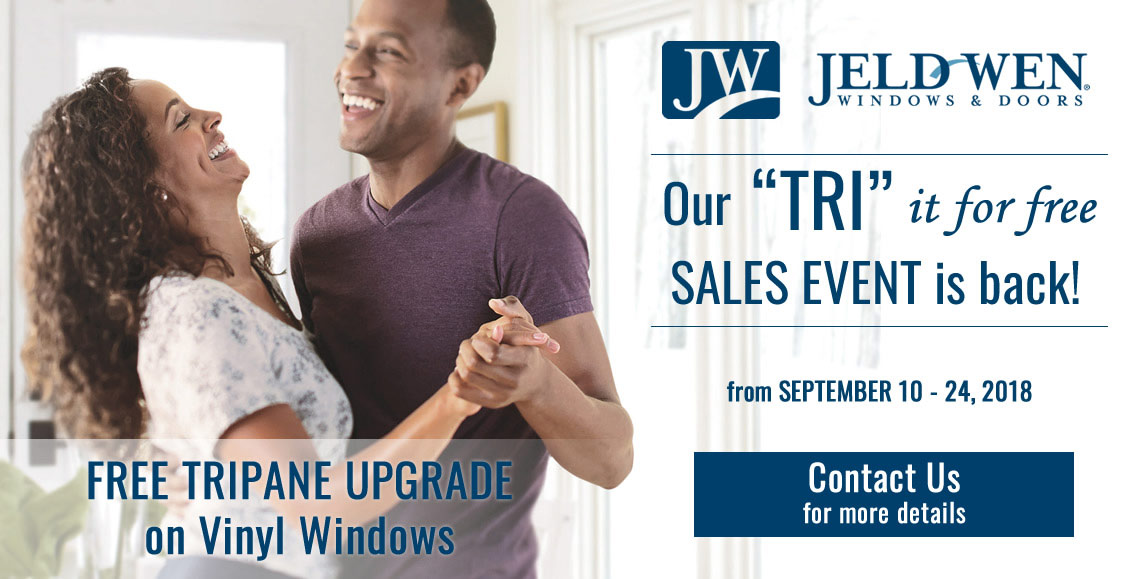 September 10-24, 2018 at Turkstra Lumber. Contact us for more details and our courteous staff will help you select the right windows for your home or project.