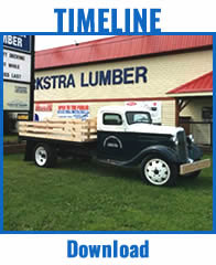 Timeline - The History of The Turkstra Lumber Company