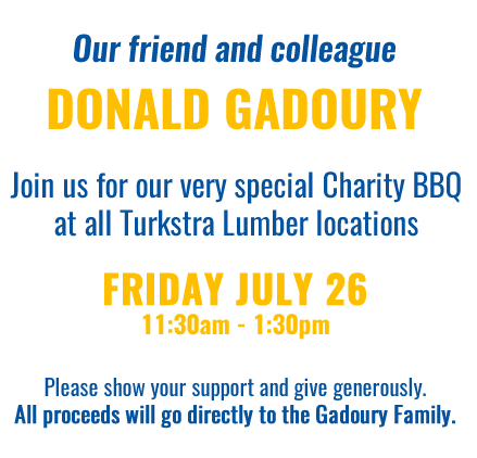 Donald Gadoury - Charity BBQ