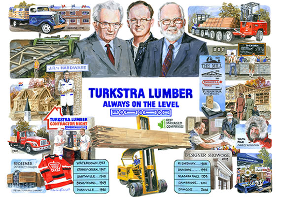 Turkstra Lumber- Best Managed Company